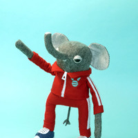 Elephant in a Tracksuit