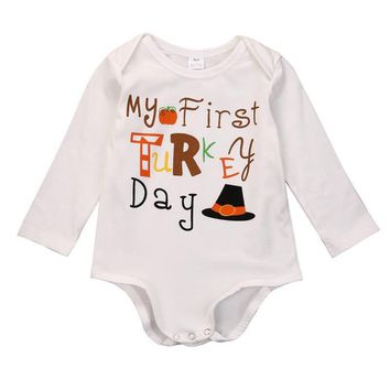 Newborn Infant Kids Baby Boy Girl Cotton Romper Jumpsuit Outfit Clothes baby rompers Baby Clothing unisex newborn clothing baby