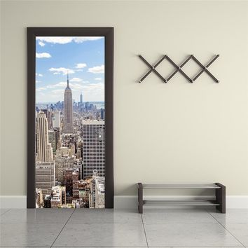 3D Wall Sticker Decal Art Decor Vinyl Removable city scene