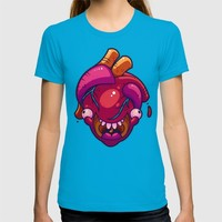 Happy Heart T-shirt by Artistic Dyslexia | Society6