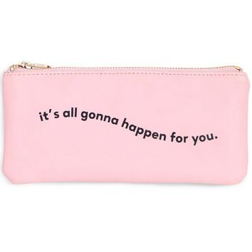 Gonna Happen For You Get It Together Pencil Pouch by Bando