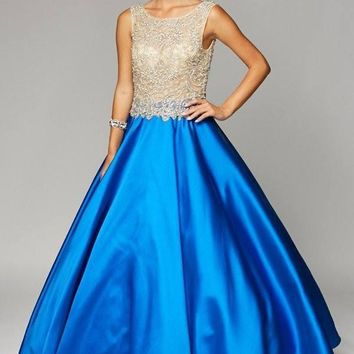 Ball gown Quinceanera sweet 15 prom dress jul#651