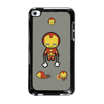 IRON MAN KAWAII Marvel Avengers iPod Touch 4 Case Cover