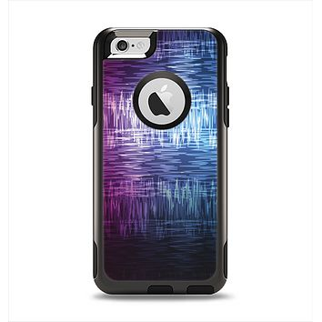 The Vibrant Colored Lined Surface Apple iPhone 6 Otterbox Commuter Case Skin Set