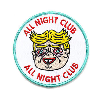 All Night Club Patch