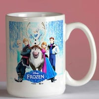 Frozen Disney mug coffee, mug tea, size 8,2 x 9,5 cm