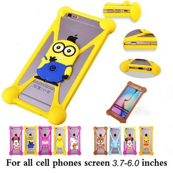 Cute Cartoon hello kitty Batman Stitch SpongeBob Cover Cases For Beeline Pro 2 Fast 2 Smart Dual MegaFon MegaFon 4G Turbo Login+