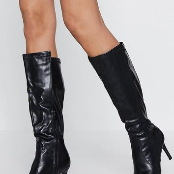 Purr for Me Calf Boot