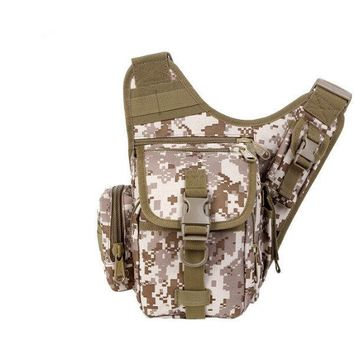 Army Fans Bag Hiking Outdoor Camera Bag Travel Versatile Shoulder Chest Bag
