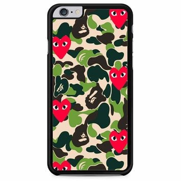 Bape Camo Garcons iPhone 6 Plus/ 6S Plus Case