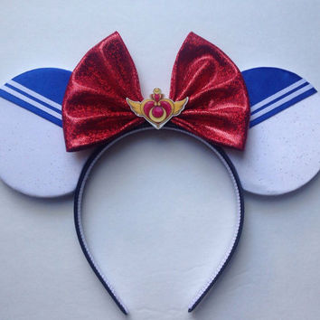 Sailor Moon inspired ears headband
