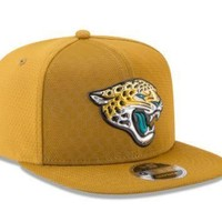 NFL Jacksonville Jaguars New Era 2017 Color Rush 9FIFTY Snapback Hat