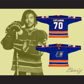 Xavier LaFlamme 70 Halifax Highlanders Hockey Jersey NEW Goon Movie