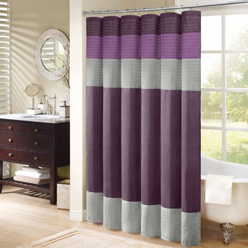 Purple Amherst Shower Curtain