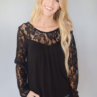 Madison Lace Top