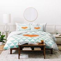 Hello Twiggs A Love Affair Duvet Cover