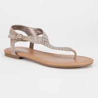 Soda Lima Womens Sandals Clay  In Sizes