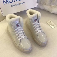 Moncler Women Fashion Casual Flats Shoes Boots