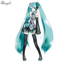 Adogirl 2016 Real Time-limited Sexy Vocaloid Hatsune Miku Anime Cosplay Halloween Costume Easter Carnival Day
