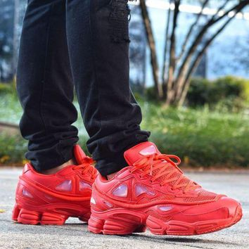 VON3TL Sale Raf Simons x Adidas Consortium Ozweego 2 III Retro Sport Smart Running Shoes Red Trainers Shoes S74584