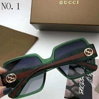 GUCCI men and women tide brand fashion pop trendy sunglasses F