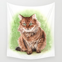 Cannelle Wall Tapestry by Savousepate
