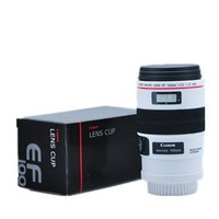 Uniqstore Camera Lens Mug/lens Coffee Cup(Creative Cup Design Is Simulation to Canon Camera Lens Mug / Lens Tea Coffee Cup White Ef 100mm for Photographer Gift)