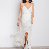 Tie Gauze Dress