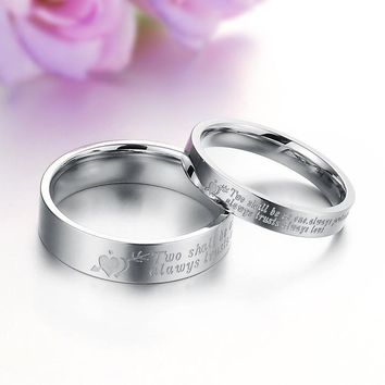 New Arrival Gift Shiny Korean Stylish Jewelry Titanium Ring [11676773007]