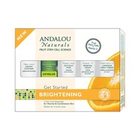Andalou Naturals Get Started Brightening 5 Piece Kit