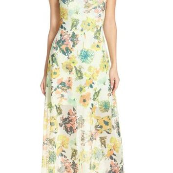 Maaji Strappy Cover-Up Maxi Dress | Nordstrom