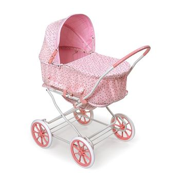 Badger Basket Rosebud 3-in-1 Doll Carrier (Pink)