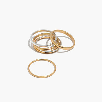 Delicate Stacking Ring Set