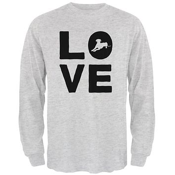 Dog Love Series Mens Long Sleeve T Shirt