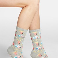Women's Hot Sox 'The Movies' Crew Socks