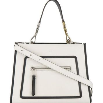 Fendi Runway Leather Shoulder Bag Farfetch