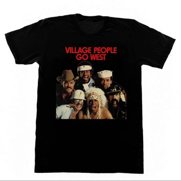 The Village People - Go West T-Shirt