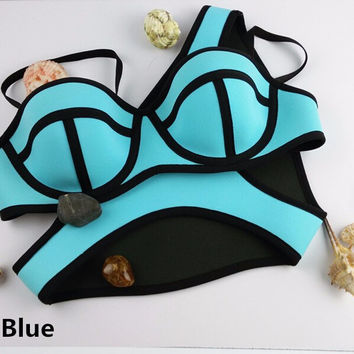 Sexy Swimsuit Bath Suit Push Up Bikini set Swimwear
