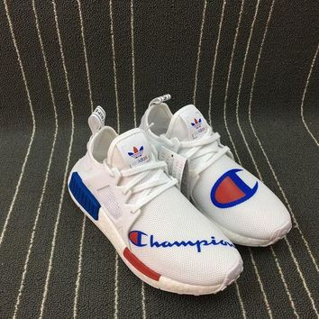 UCANUJ3V Adidas Champion Boost NMD XR1 PK W Women Men Running Shoes BA7768