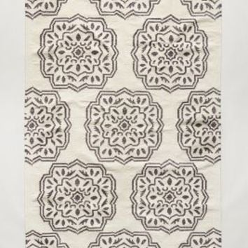 Floriate Medallion Rug by Anthropologie