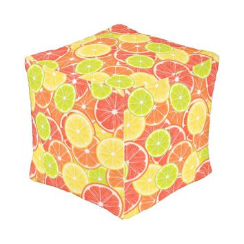 Citruses Outdoor Pouf