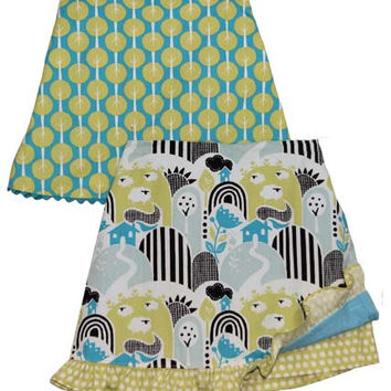 Pattern Sara's Skort sizes 3-8 children s apparel