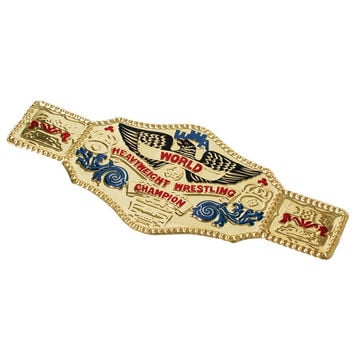 World Wrestling Champ Belt