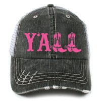 Katydid Y'all Western Women's Trucker Hat