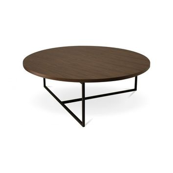 Turner Walnut Round Coffee Table | Modern, Mid-Century & Scandinavian | GFURN