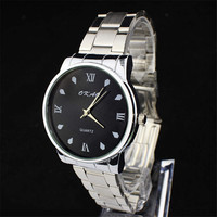 Fashion Mens Classic Steel Strap Wrist Watches Boys Casual Sports Watch Best Christmas Gift