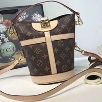 LV Louis Vuitton Classic Mini Bucket Bag F-AGG-CZDL