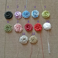 Handmade crochet roses Appliques shapes rose Flowers pattern Beautiful flower motif crocheted Floral jewelry Embellishments ornaments