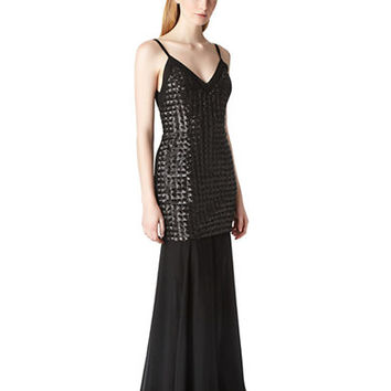 Erin Fetherston Vivian Quilted Mermaid Gown
