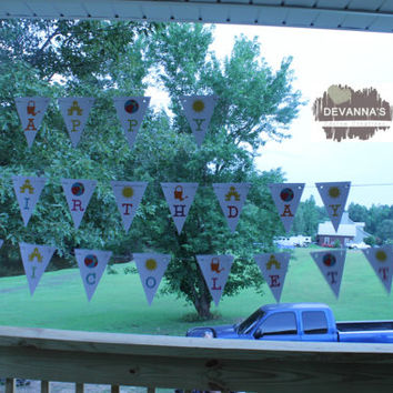 Personalized Birthday Banner - Summer Fun